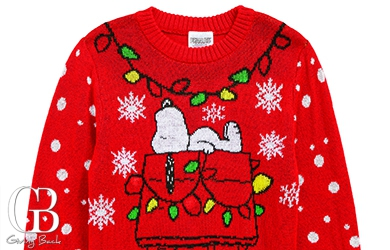 Thumbnail Peanuts Snoopy Light Up Holiday Sweater By Jem 20181211114957452
