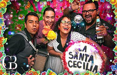 La Santa Cecilia: Copley Music Center