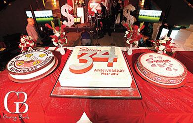 Sycuan Casino Celebrates 34