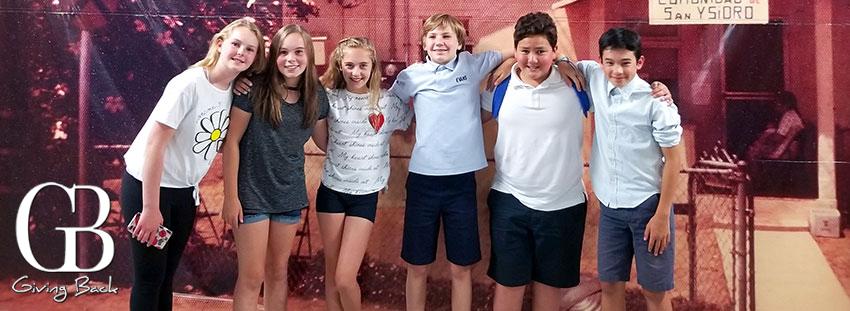 San Ysidro Health & The Evans School Sixth-Graders