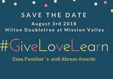 Casa Familiar Abrazos Awards