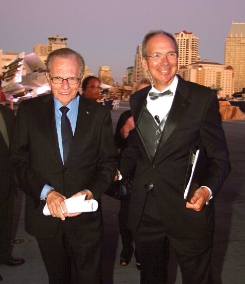 .   Larry King at the USS Midway Gala.JPG