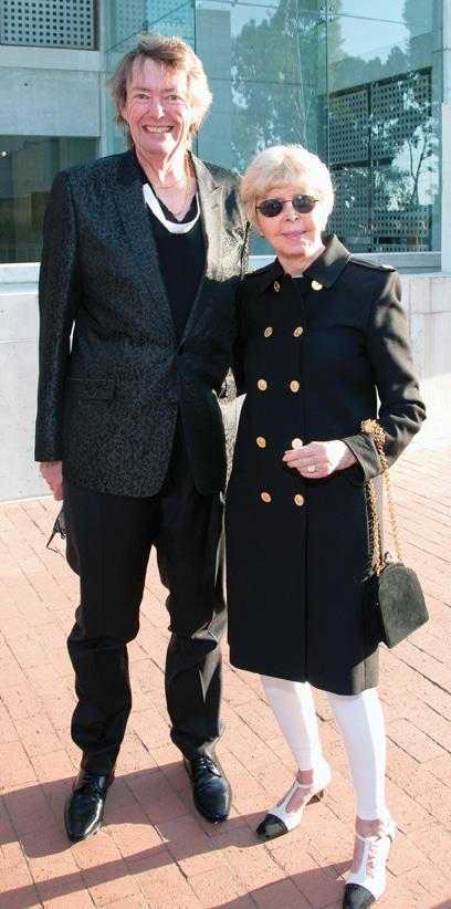 .   David Copley and Audrey Geisel at Symphony at Salk