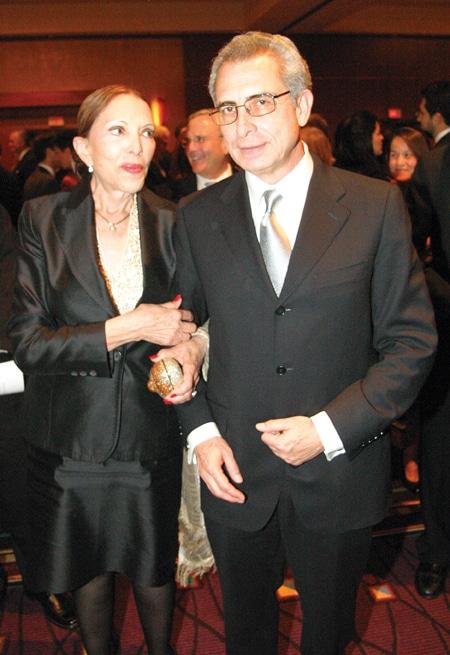 .    Alejandra Luken and Presidente Ernesto Zedillo.JPG