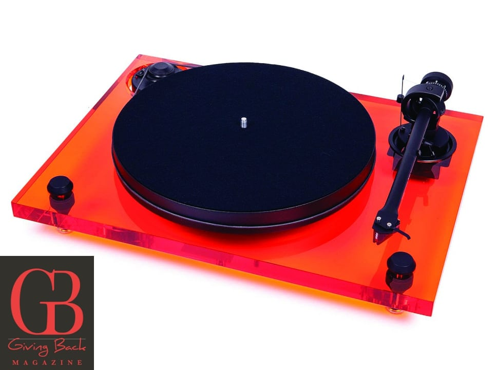 Xperience Primary Acryl Turntable by Pro Ject