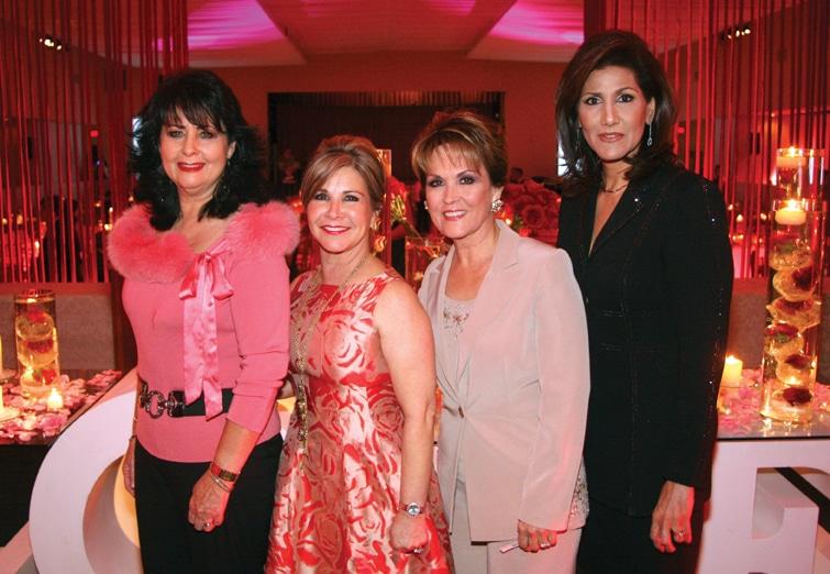 .   Gloria Pavlovich, Diana Kuri, Lupita Camarena and Mayra Limon at Un Beso Por Tijuana.JPG