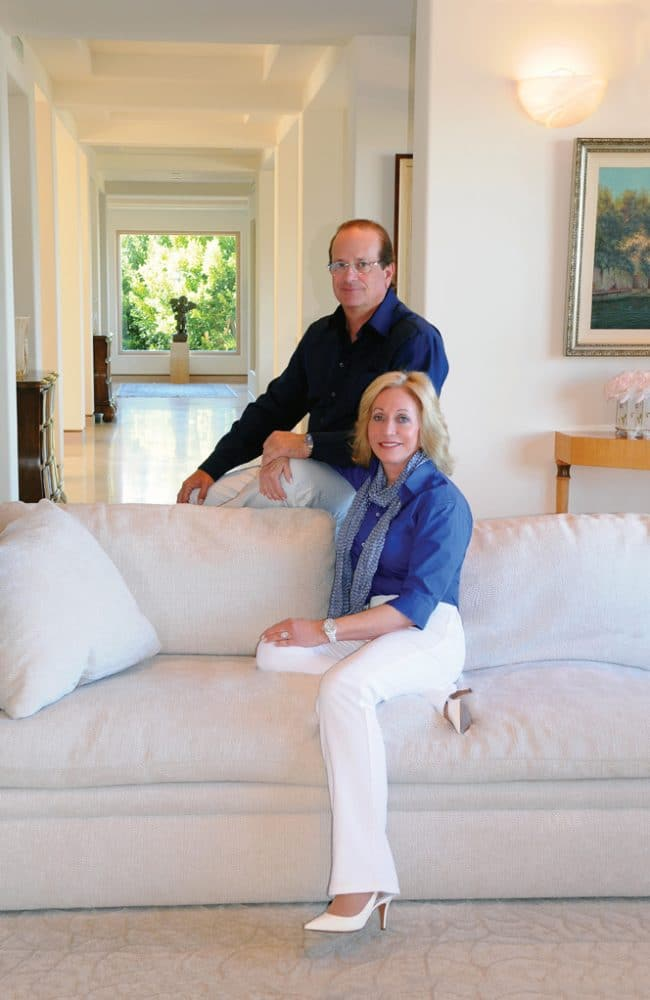 .   At home with Dean and Susie Spanos.JPG