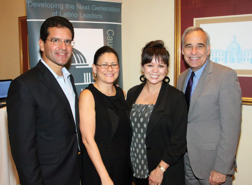 .   Congressman Pedro Pierluisi, Esher Aguilera, Lidia Martinez and Congressman Charles Gonzalez.JPG
