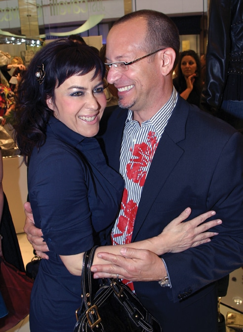 . Yolanda S. Walther Meade and John Bailey at Fashion Valley Event.JPG