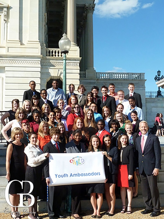Youth Ambassadors  one from each state and Washington  D.C. make up Sandy  s Army