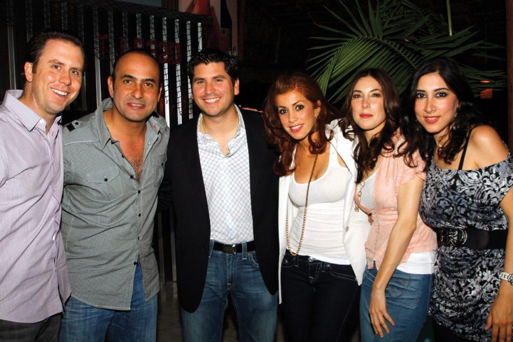.   Friends at Tijuana restuarant opening
