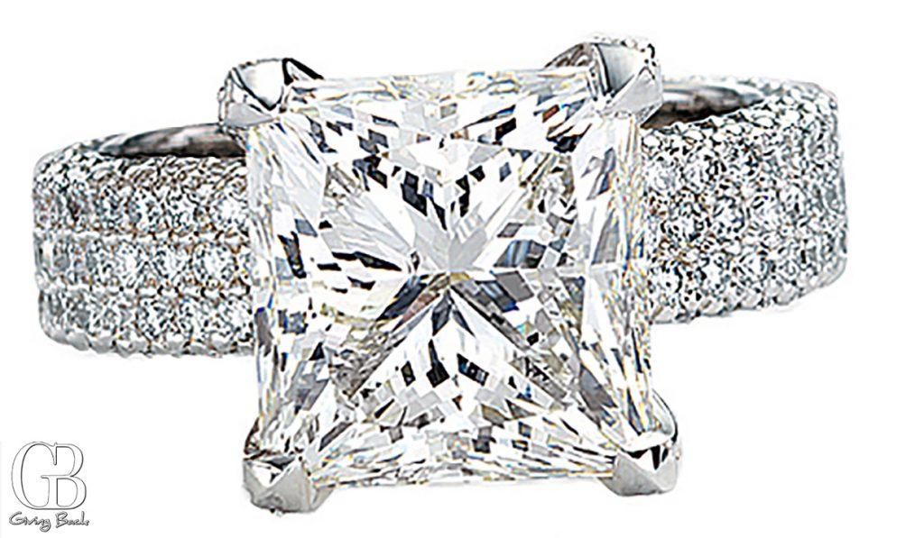 .ct Princess Cut Diamond Ring