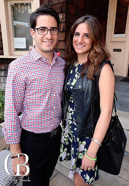 Aaron Behar and Andrea Artenstin