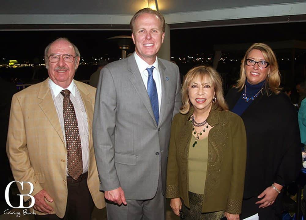 Aaron Feldman  Mayor Kevin Faulconer  Josie Calderon Scott and Tana Lorah