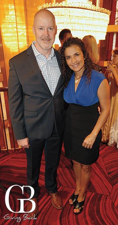 Aaron Reid and Adriana Bacelis