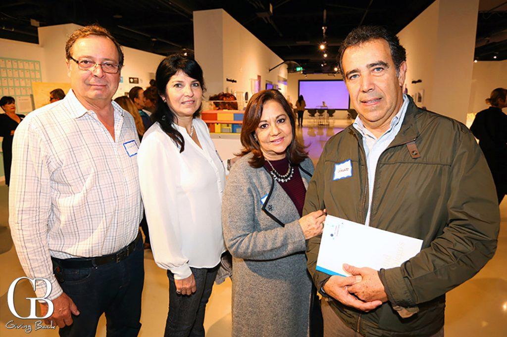 Abelardo y Claudia Rodriguez con Maria Elena Garate y Gerardo Garcia