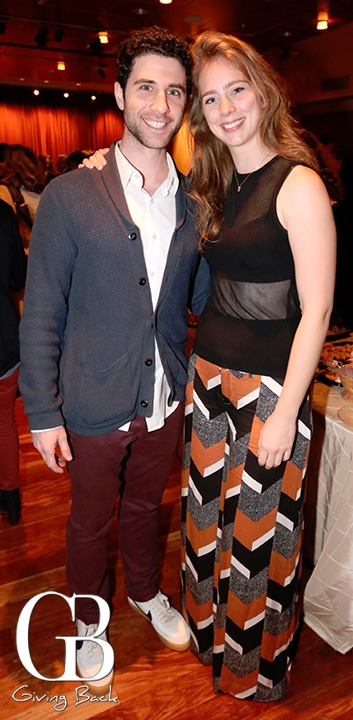 Adam Gerber and Charlotte Bydwell