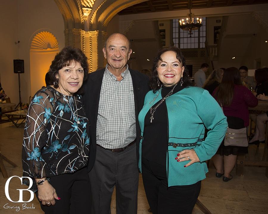 Adela Garcia with Roger and Cecilia Cazares