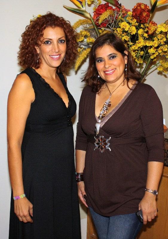 Adriana Millanes y Angelina Marellin