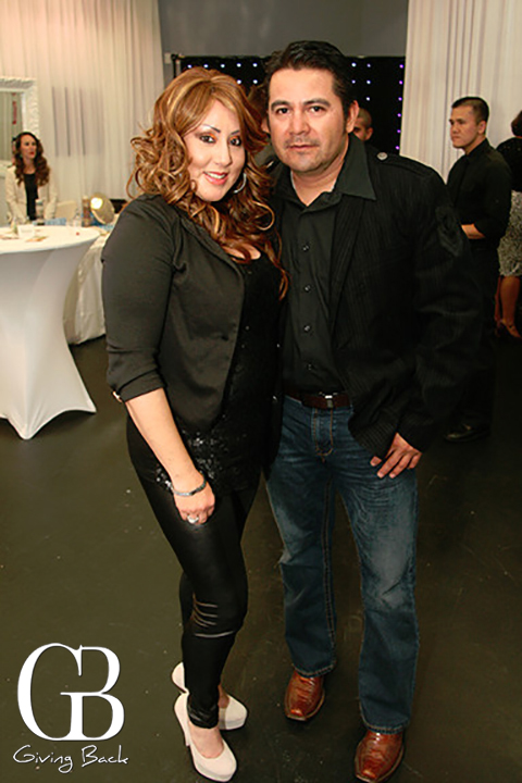 Adriana Aguila and Luis Adrian Sumaya