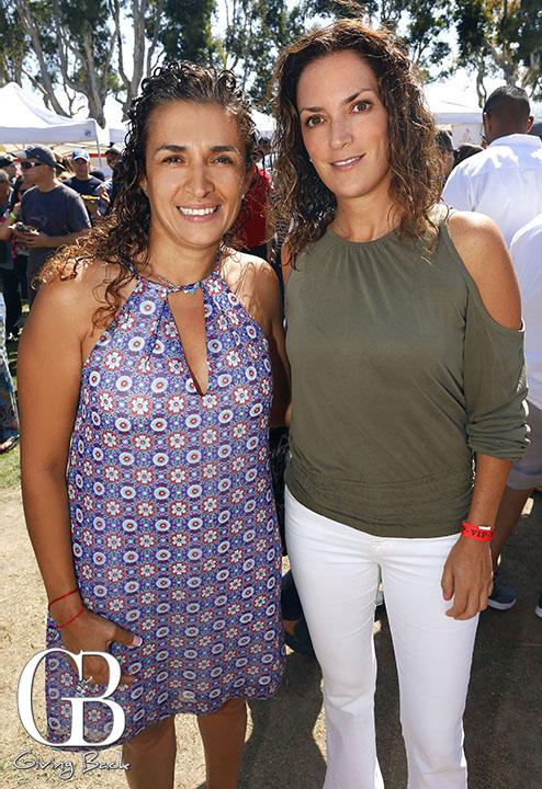 Adriana Bacelis and Veronica Marti