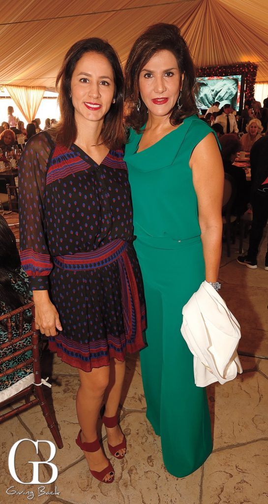 Adriana Bravo and Mayra Limon