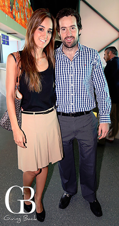 Adriana Camarena y Carlos Hermida