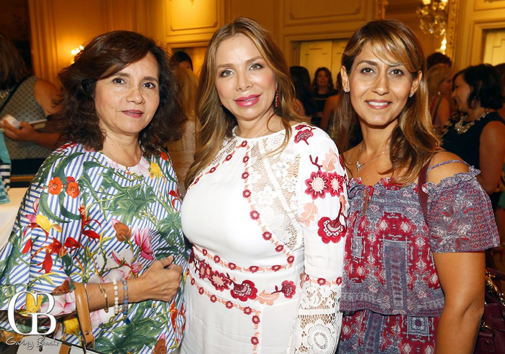 Adriana Morales  Elizabeth Camberro and Pooneh Hamzei