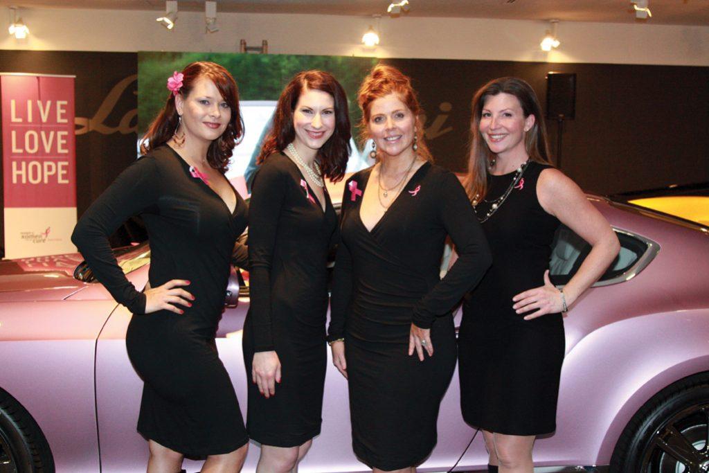 Adrianne McCraw, Megan Pollock, Sandy Rabourne and Audrey Grant.JPG