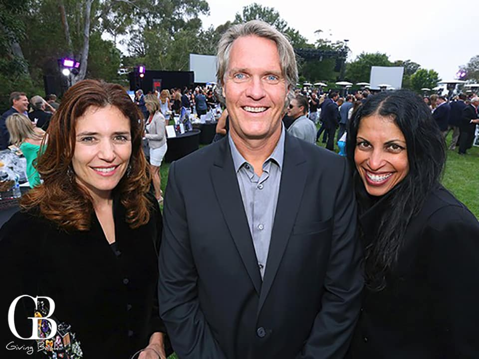 Adrienne Vargas with Scott and Shakha Gilin