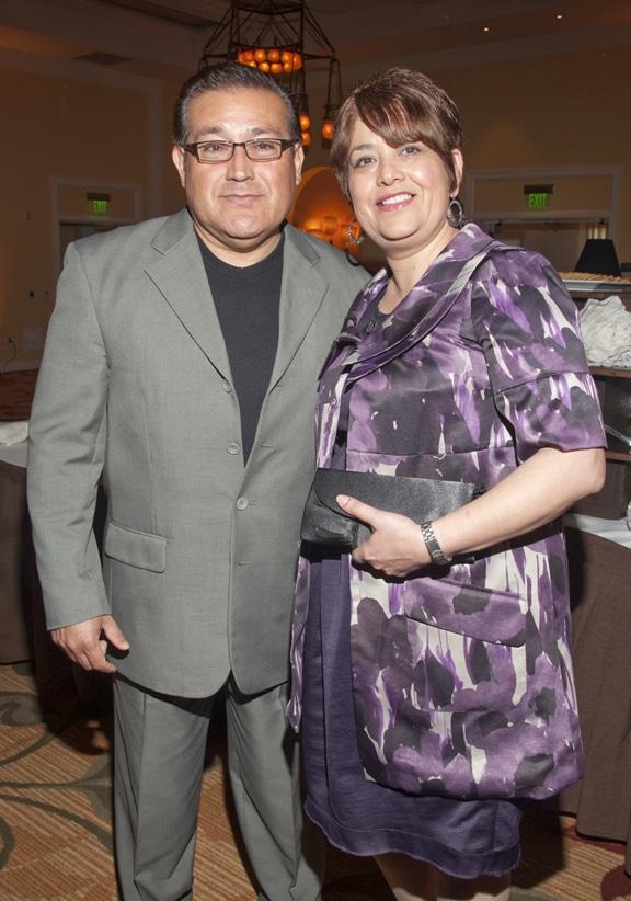 Agustin and Gabriela Cervantes
