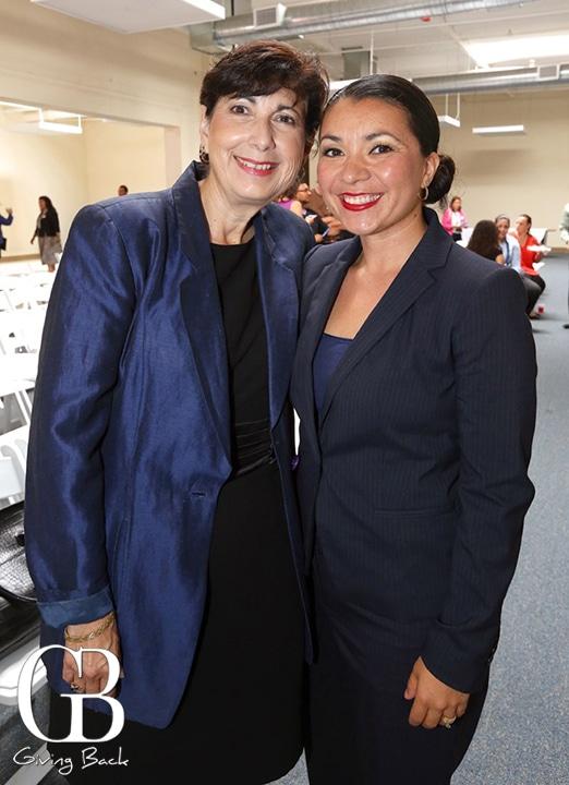 Aida Garcia and Councilwoman Alejandro Sotelo Solis