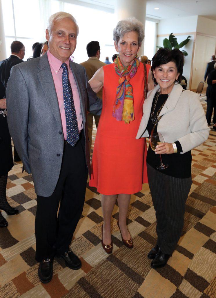 Alan and Nancy Spector with Barbara Freeman.JPG