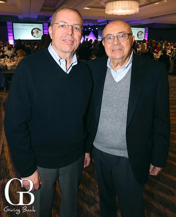 Alan Viterbi and Andrew Viterbi