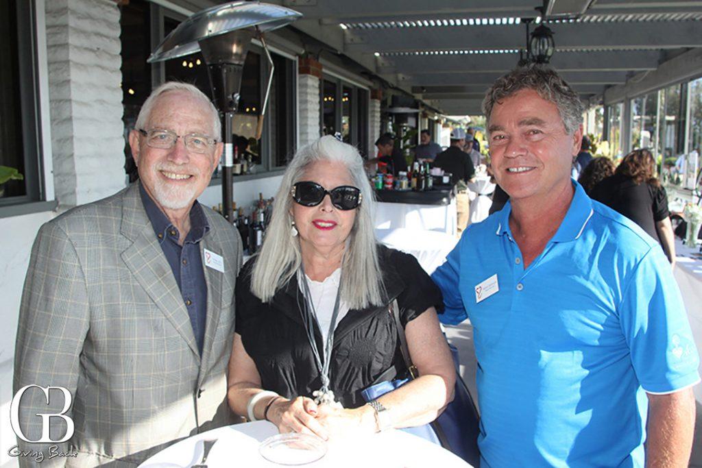 Albert and Cheryl Ray with Robert DeSimone