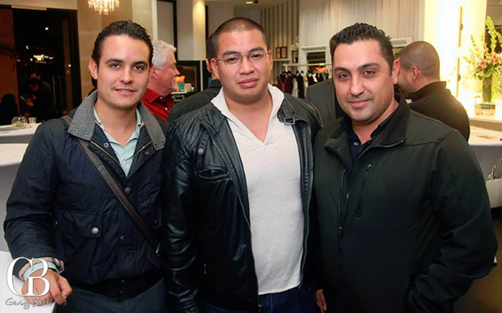 Alberto Corona  Sonny Nguyen and Felipe Padilla
