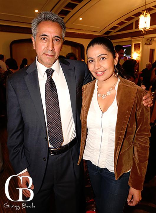 Alberto Diaz Gonzalez and Jacqueline Reynoso