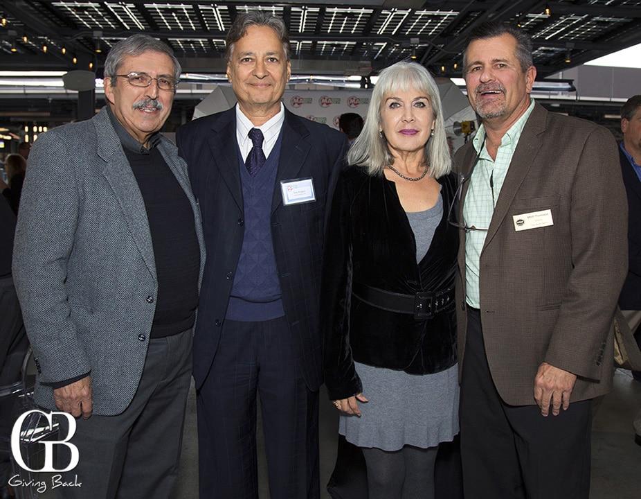 Alberto Ochoa  Ray Aragon  Luz Camacho and Mitch Thompson