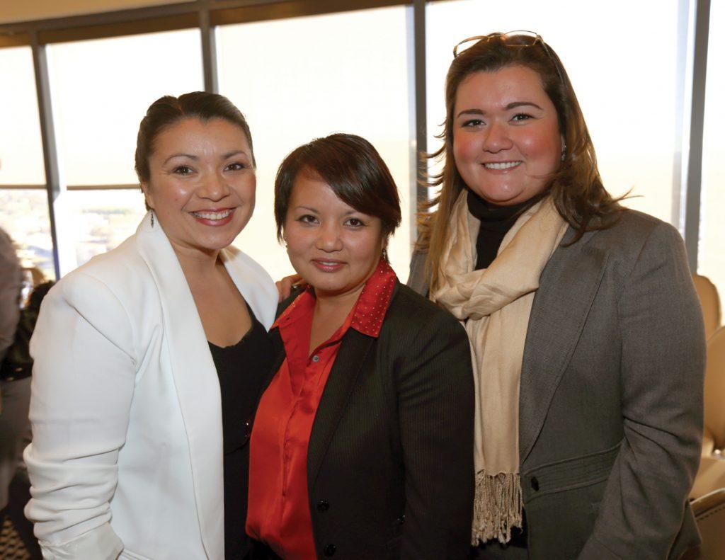 Alejandra Sotelo Solis, Larisa Reyes Falcon and Vivian Moreno.JPG