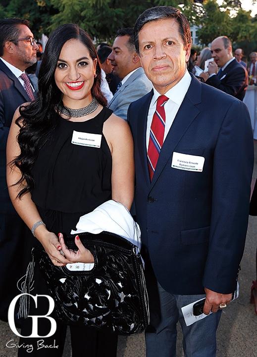 Alejandra Leon and Francisco Romero