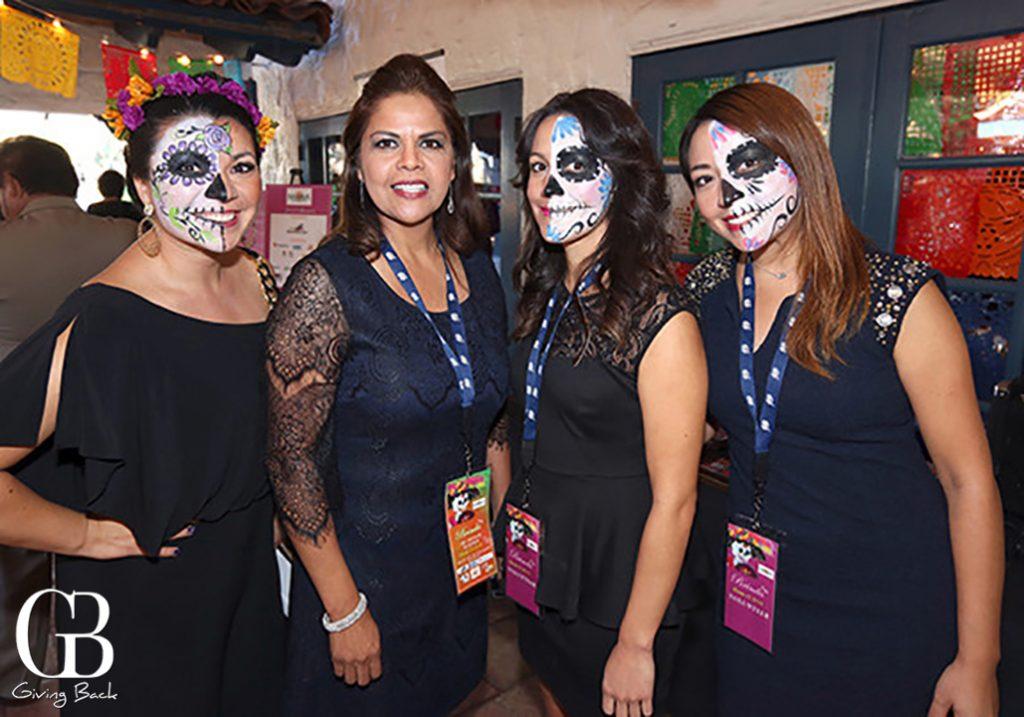 Alejandra Sotelo Solis  Betty Ljungquist  Vanessa Bernal and Daniela Trujillo