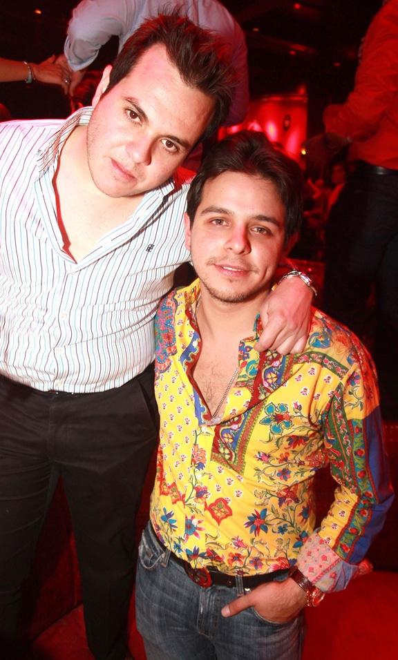 Alejandro Angulo y Cesar Angulo