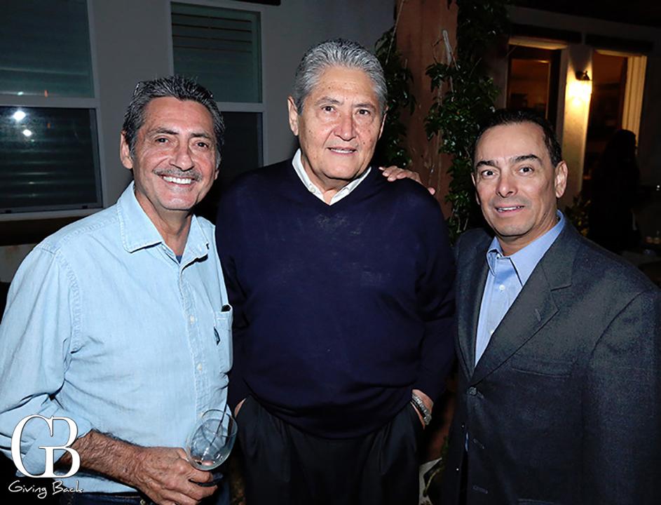 Alejandro Cabrera  Jose Cabrera y Federico Tiznado