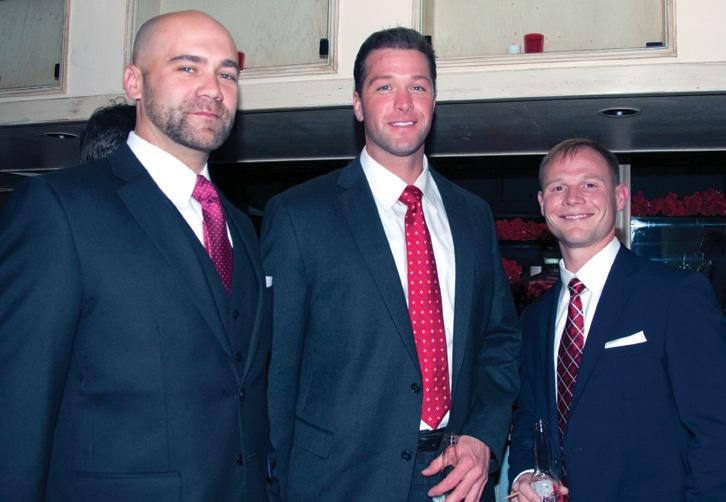 Alex Martin, Joe Begley and Joe Fry