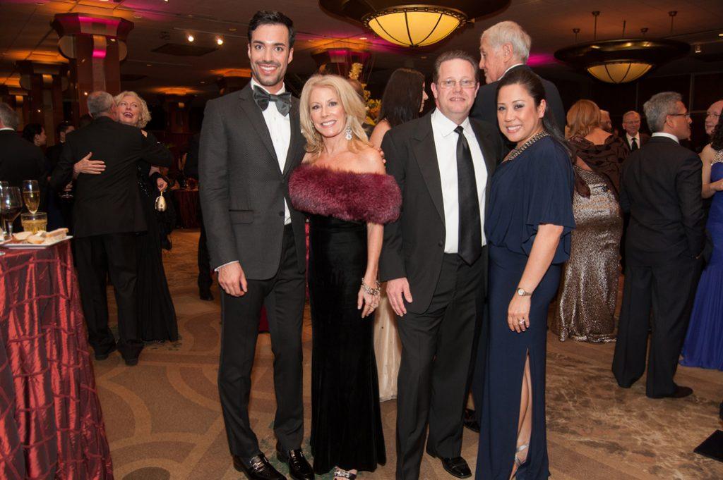 Alex Yanez, Geannie Campanella with Robert and Ida Whitaker