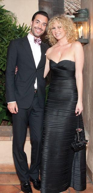 Alex Yanez and Sarah Dolgen