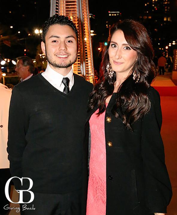 Alexander Huitink and Mara Derakapet