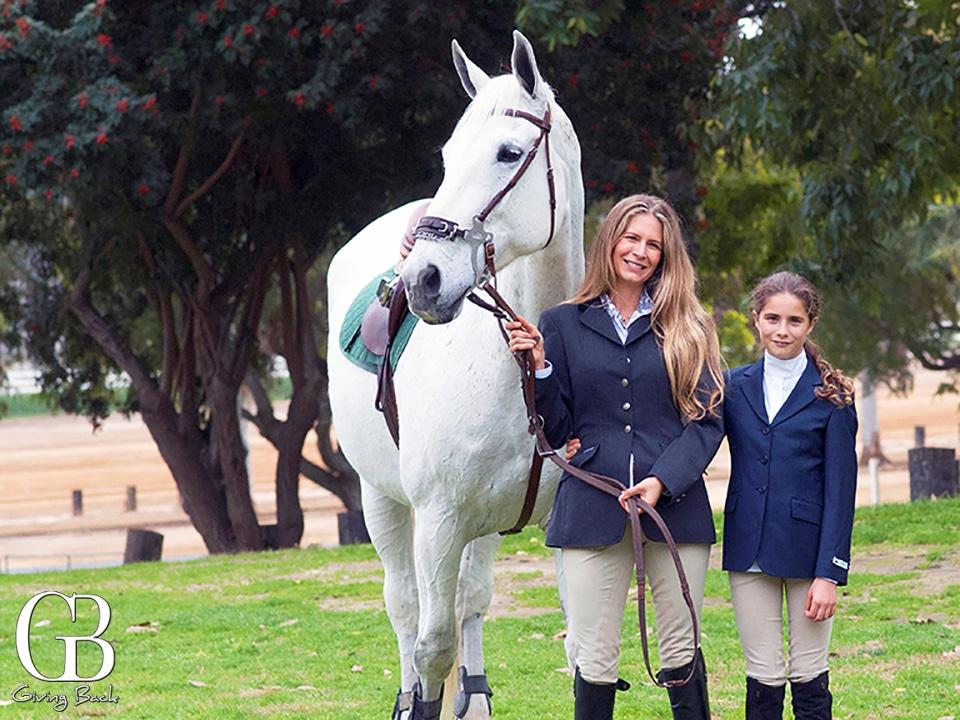 Alexandra Borbolla and her daughter Emilia