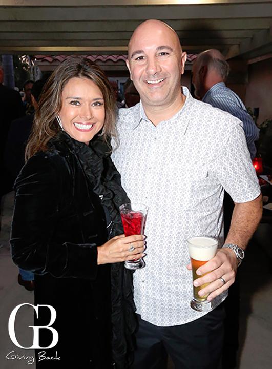 Alexandra and Paul Taccone