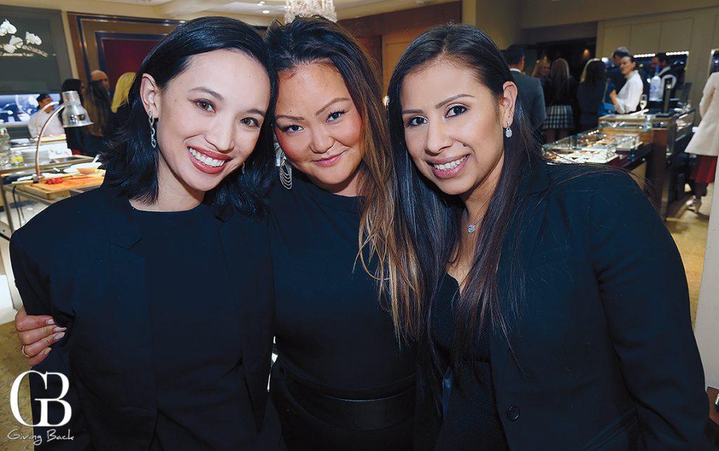 Alexandria Garcia  Maiken Eriksson Domingue and Belinda Ramos